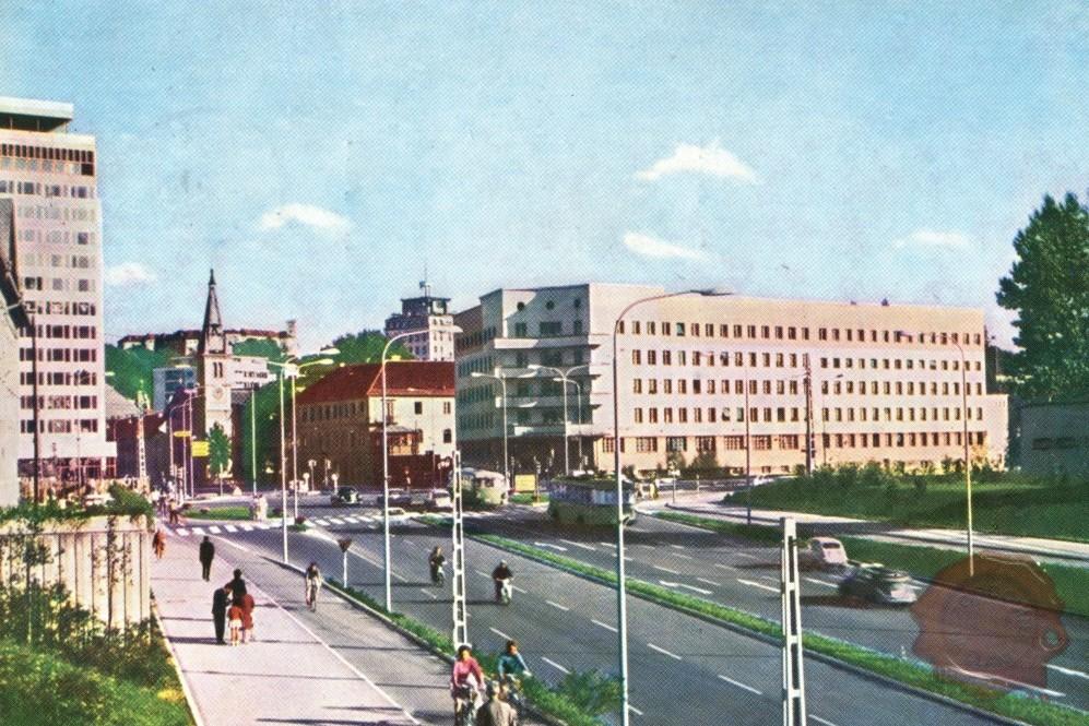 Ljubljana, Celovška, 1960-1970