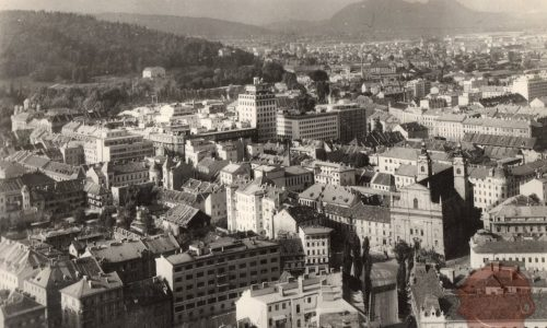 Ljubljana, pogled z gradu
