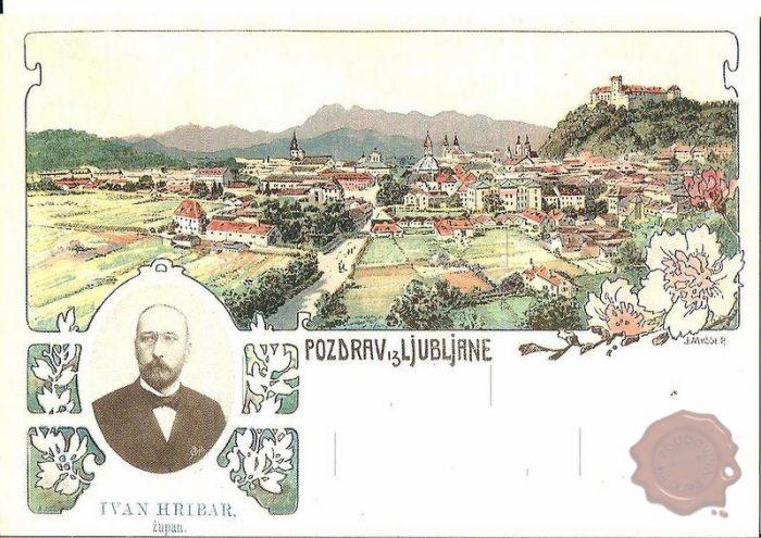 Ivan Hribar in njegova Ljubljana