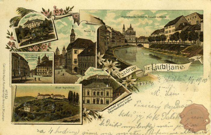Znamenitosti Ljubljane v 19. stoletju