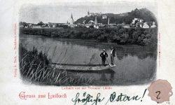_Ljubljana_Ljubljanica_Grad_1898