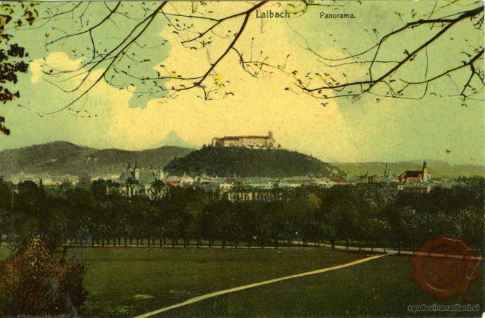 Panorama Ljubljane