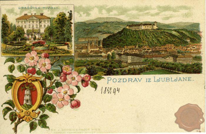 Tivolski in ljubljanski grad
