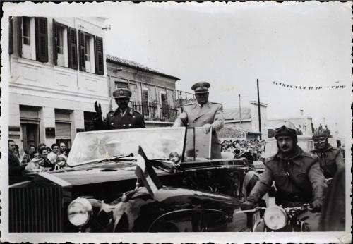 Josip_Broz_Tito z etiopskim cesarjem Haile Selasiem_kamra