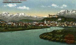 Ljubljana_Ljubljanica_Ljubljanski_grad_1918