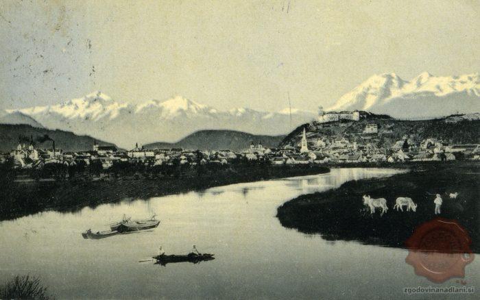Ljubljana s Kamniškimi planinami