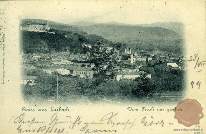 Pozdrav iz Ljubljane