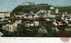 Pogled s Trnovske cerkve