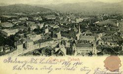 Ljubljana_Marijin_trg_Prešernov_trg_Tromostovje_Franciskanska_cerkev