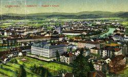 Ljubljana_Gimnazija_Poljane_Cerkev_sv._Petra_cukrarna_1900-1915
