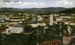 Ljubljana_Rog_Domobranska_vojašnica_cerkev_sv.Petra_cerkev_sv.Jožefa_gimnazija_Poljane