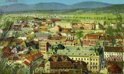 Ljubljana_Deželni_dvorec_Tobačna_1915