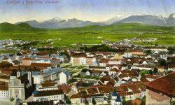 Ljubljana_Franciskanska_cerkev_Grad_Sodna_palača._1914