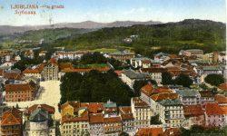 Kongresni_trg_Rožnik_Uršulinska_cerkev_Kazina_1922