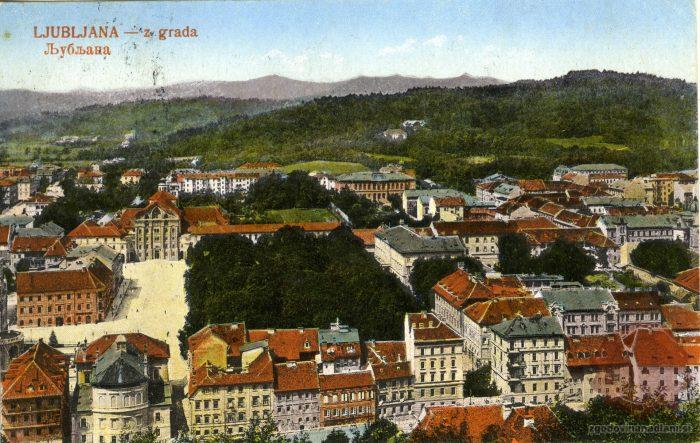 Kongresni trg z gradu