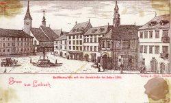 Mestni trg v 16. stoletju