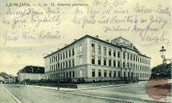 1-1_Ljubljana_Gimnazija_Poljane_Poljanska_II_klasična_gimnazija_strossmayerjeva_ulica_poljanska_cesta_1915