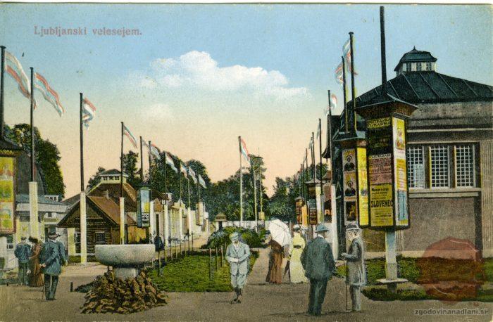 Ljubljanski velesejem v parku Tivoli