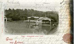 Tivolski ribnik – Čolnarna