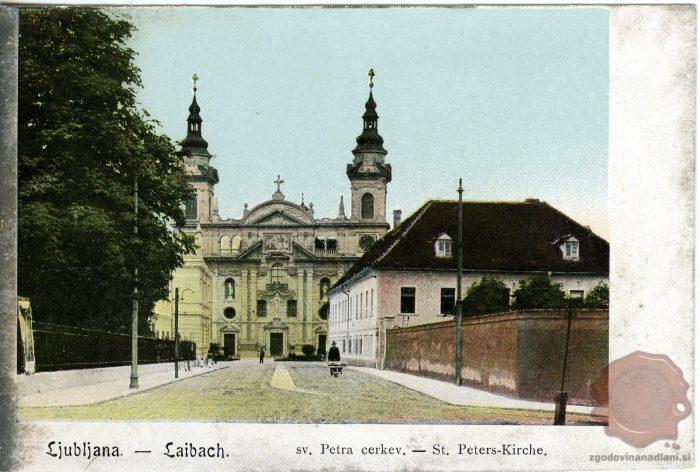 Baročna Cerkev Svetega Petra