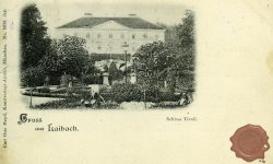 Grad Tivoli v parku Tivoli
