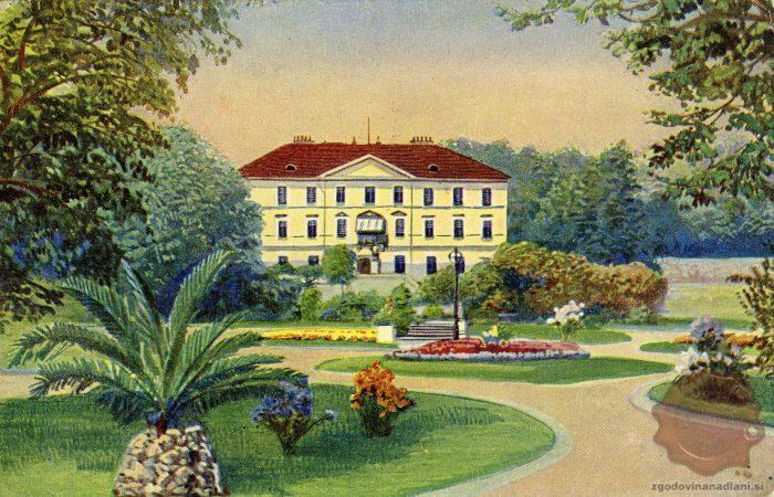 Grad Tivoli in Park Tivoli