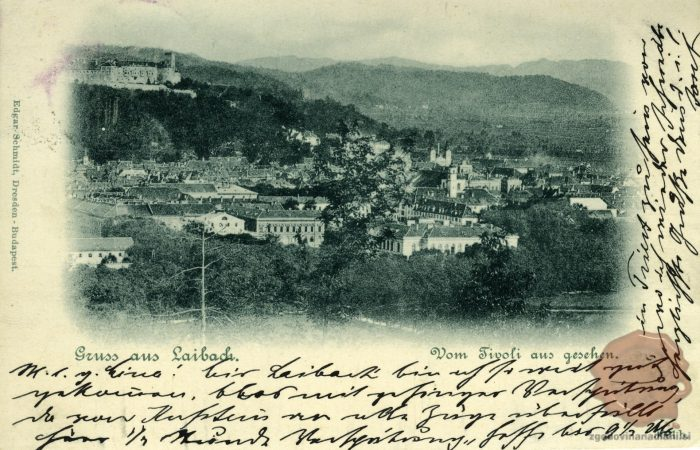 Ljubljana iz Tivolija