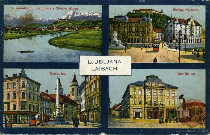 Znamenitosti Ljubljane