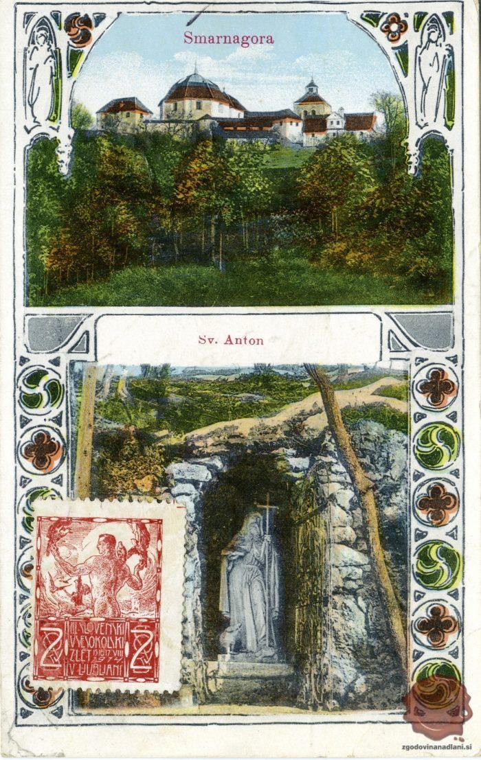 Šmarna gora in Sveti Anton