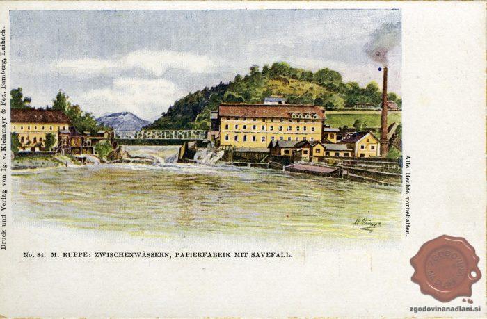 Papirnica v času Avstro-Ogrske