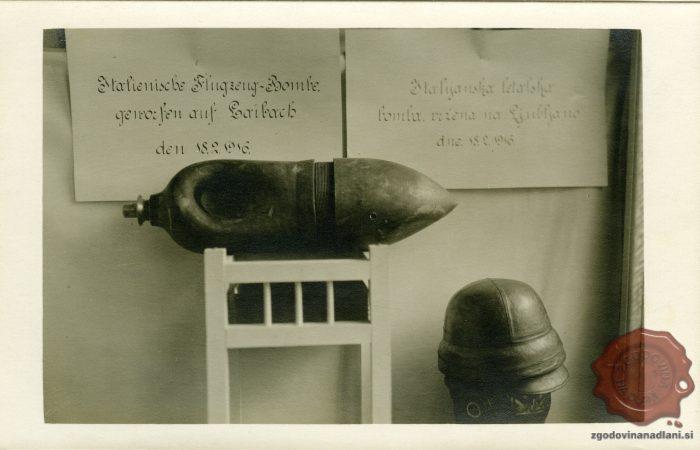 Utrinki prve svetovne vojne na razglednici