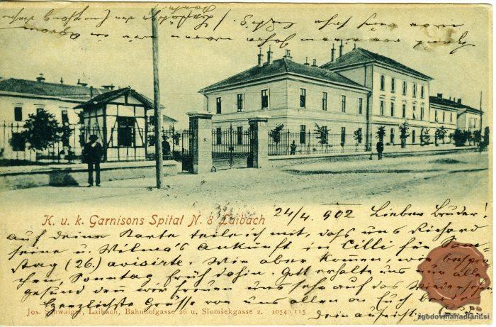 Vojaška bolnišnica v Ljubljani