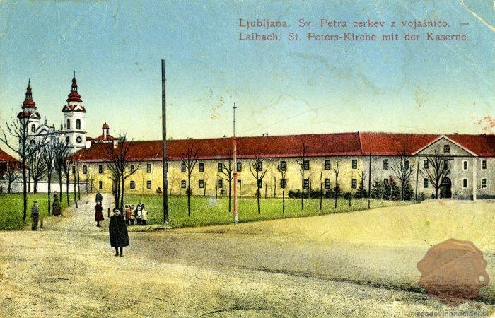 Cerkev Sv. Petra in vojašnica