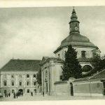 jubljana_Trg_francoske_revolucije_Cerkev_Marije_pomočnice_1914