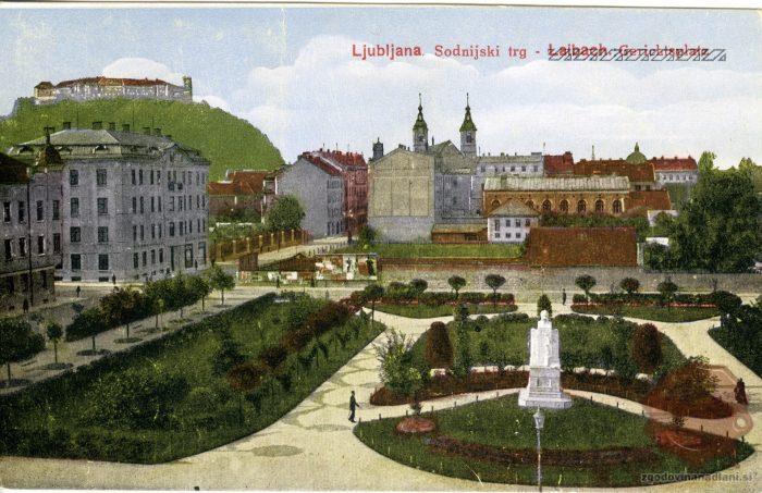 Sodnijski trg v Ljubljani