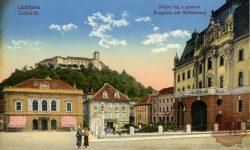 jubljana_Dvorni_trg_Kongresni_trg_Deželni_dvorec_Ljubljanski_grad