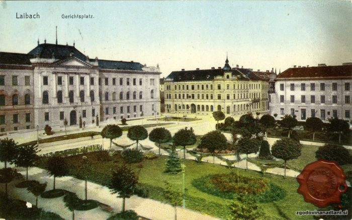 Sodnijski trg (Gerichtsplatz)