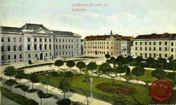 Slovenski trg in Sodna palača