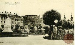 Slovenski trg in spomenik Francu Jožefu