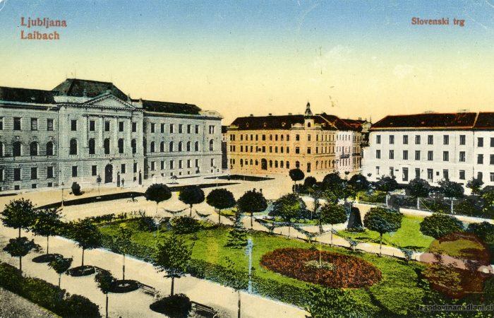 Slovenski (Sodnijski) trg v Ljubljani