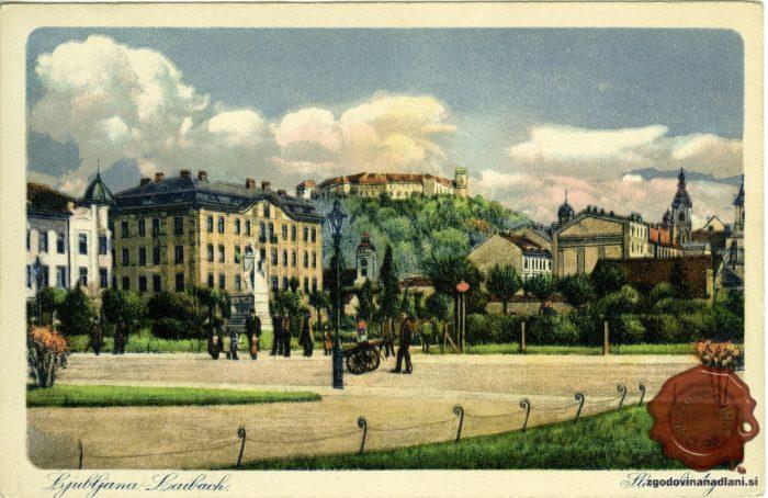 Slovenski trg in ljubljanski grad