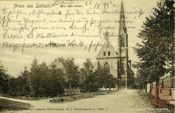 Cerkev Srca Jezusovega v Ljubljani