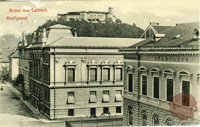 Ljubljana leta 1910