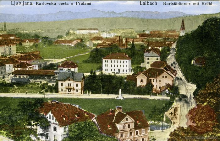 Karlovška cesta in Prule