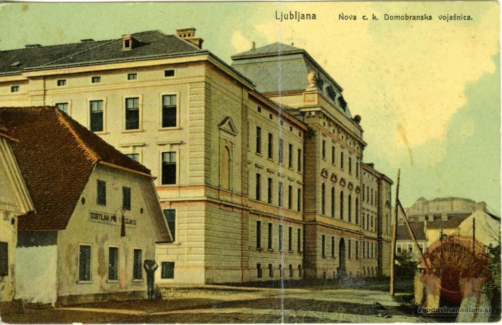 74-1_cesarsko_kraljeva_domobranska_vojašnica_ljubljana_roška_cesta_1912