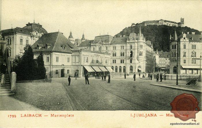 Marijin trg z gostilno Pri Bučarju