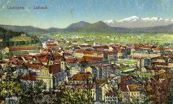 Ljubljana z gradu