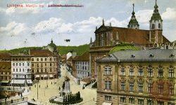 marijin_trg_prešernov_spomenik_frančiškanska_cerkev_čopova_ulica_ljubljana_1920