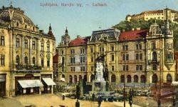 Marijin trg s Prešernovim spomenikom