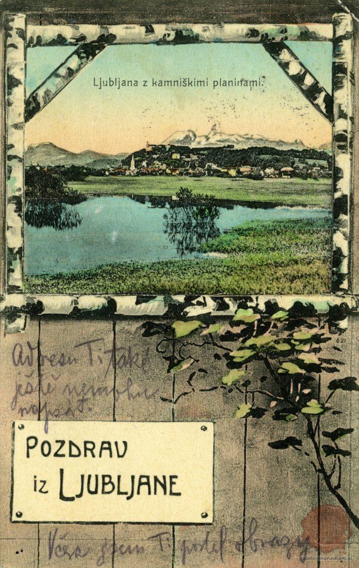 Ljubljana v okvirju